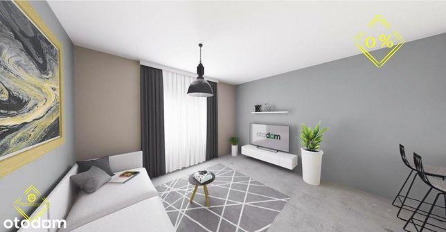 Podjasnogórska / 47,73m2/ 2 pokoje/ taras 12,97 m2