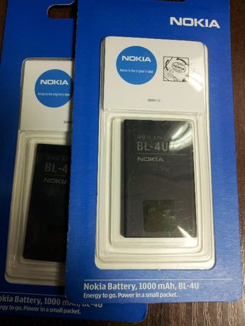 аккумулятор для NOKIA BL 4 U оригинал euro 2.2