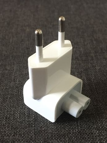 Вилка Euro для Apple Power Adapter MagSafe переходник