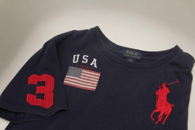 Polo Ralph Lauren Big Logo рр S футболка из хлопка свежиее коллекции