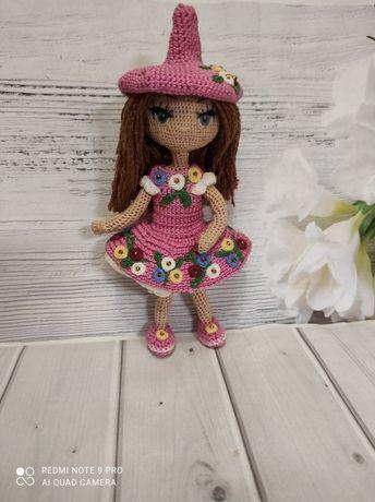 Кукла Маша-амигуруми