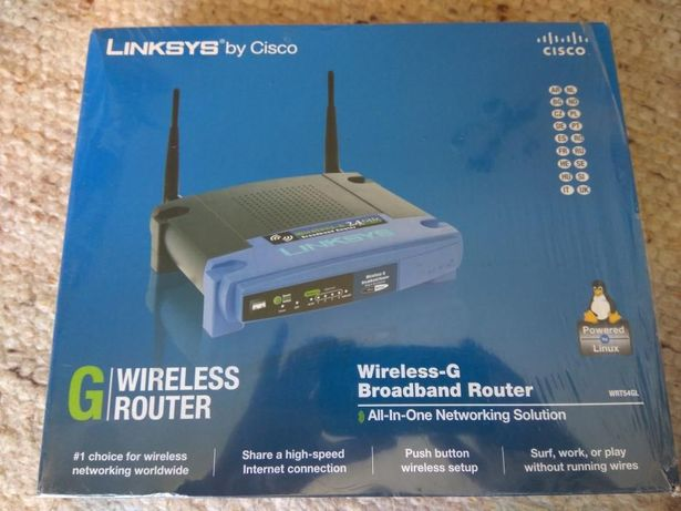 LINKSYS (WRT54GL) Wireless Router 802.11g 54Mbps