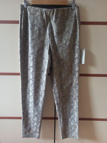 Nowe spodnie Zara wężowa skórka rozmiar L Nowe