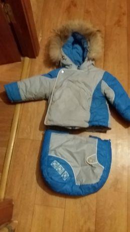 продам зимнюю куртку и комбинезон