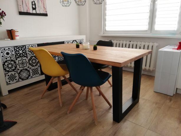 Drewniany stół dębowy, stoły z żywicy. Stoły loft, stoły drewniane.
