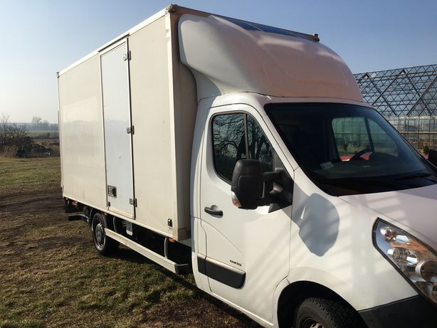 Opel Movano kontener winda