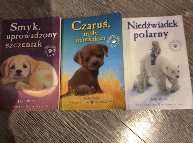 Holly Webb książki Niedźwiadek polarny, Smyk i Czaruś 3 szt