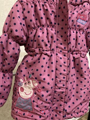 Куртка демисезонная 2-3 года на девочку