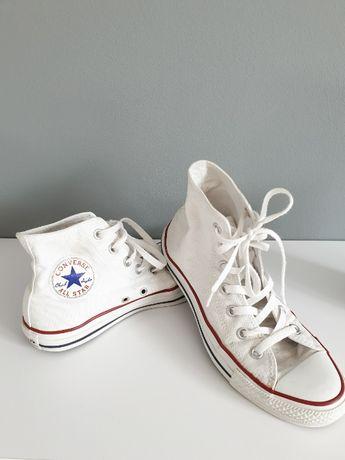Białe buty converse długie rozmiar 39
