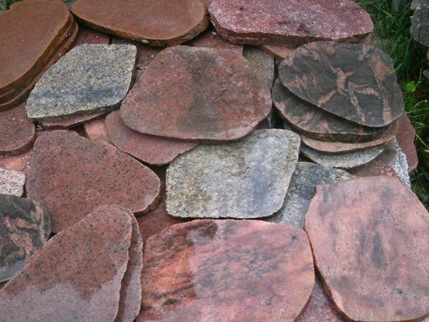 kamień cięty plastry