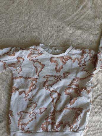 Bluza Newbie 92 Kappahl dwie bluzy