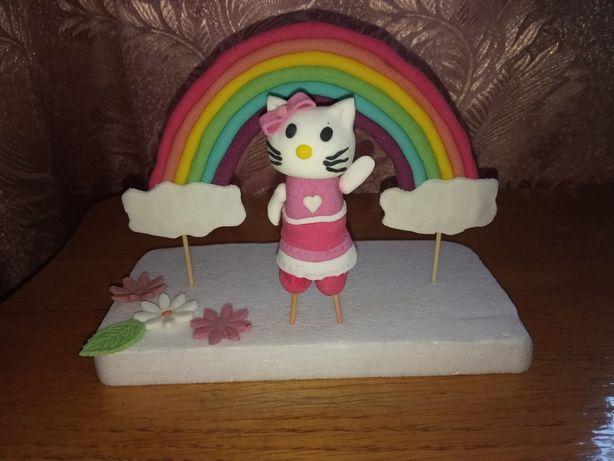Фігурки на торт Кітті, фигурки, прикраси, украшения Китти