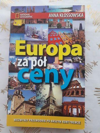 Książka National Geographic Europa za pół ceny