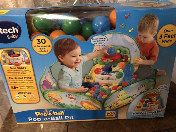 VTECH zabawka interaktywna z piłeczkami pop-a-balls