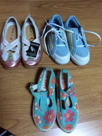 Sapatos novos sapatosGeox /tenis menina nike novos nº30