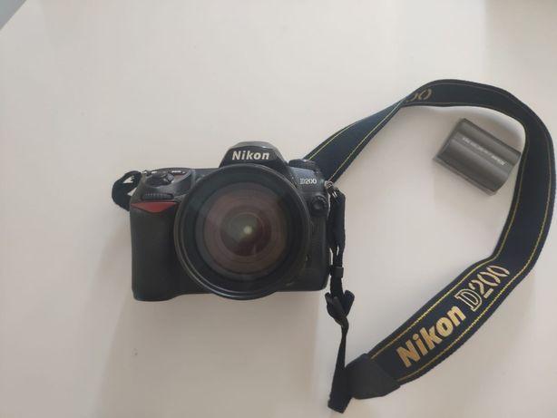 Nikon D200 + lente 18-70mm