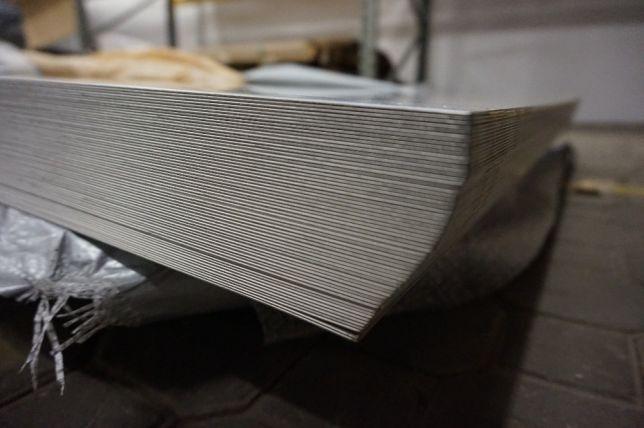 Blacha kwasoodporna, nierdzewna 1,0 x 1250 x 2500 OH18N9/304
