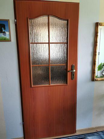 Drzwi lewe kolor wisnia rozmiar 80