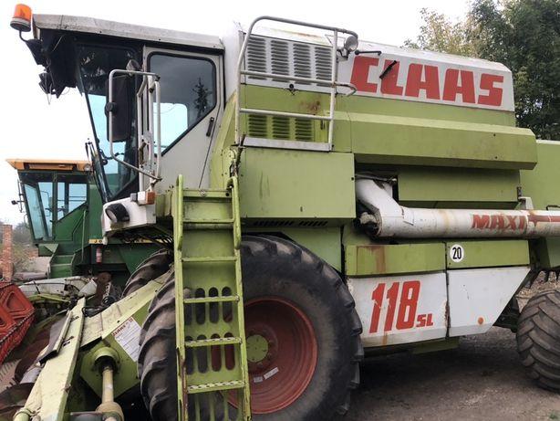 Зерновий комбайн CLAS DOMINATOR 118