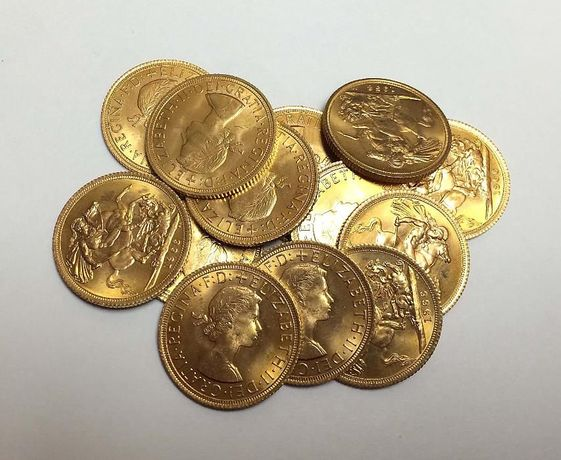 Libras de Ouro Muito Bonitas
