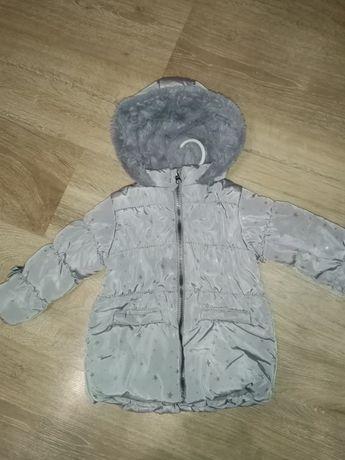 Sprzedam kurteczkę zimową r80