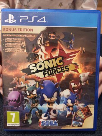 Sonic Forces - napisy PL - gra na PS4 - stan BDB