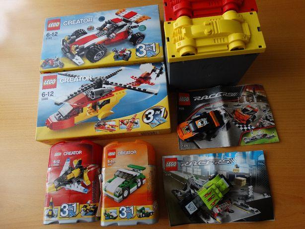 lego racers: 8199, 8125 creator: 5866, 5763, 6910, 31001