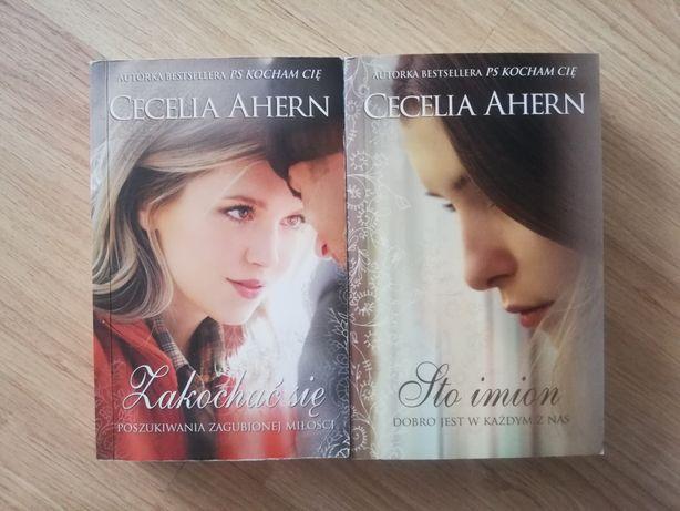 Zestaw Cecelia Ahern książki książka obyczajowa literatura kobieca