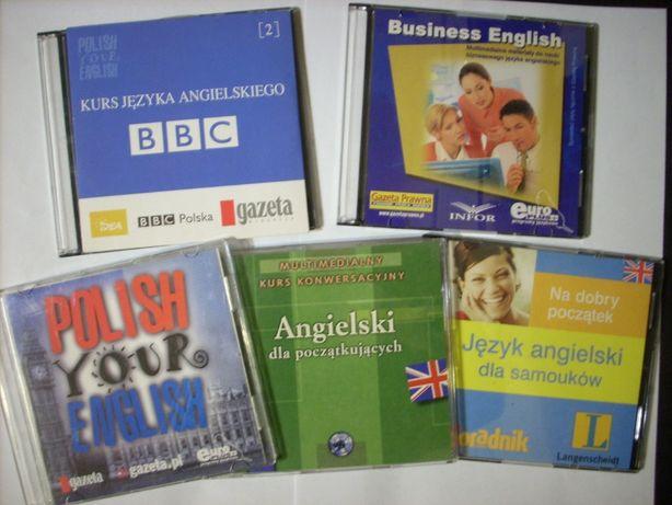 Kurs języka angielskiego na CD