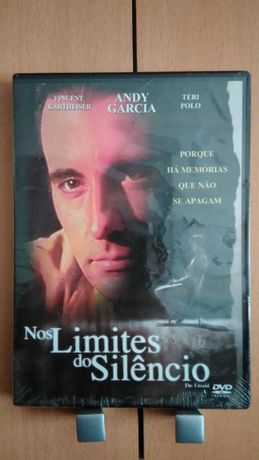 DVD Nos Limites do Silêncio PLASTIFICADO Andy Garcia Filme Tom ENTR JÁ