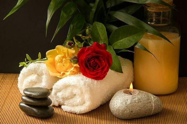 Massagem relaxamento terapêutica e sensações