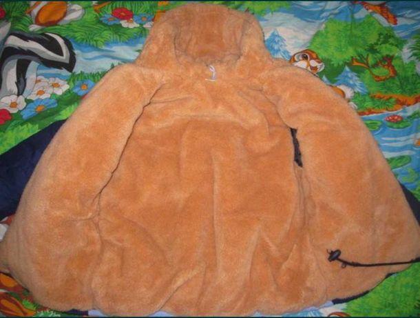 Теплая курточка Just 2 Taddy Bears на мальчика на возраст 5-6 лет