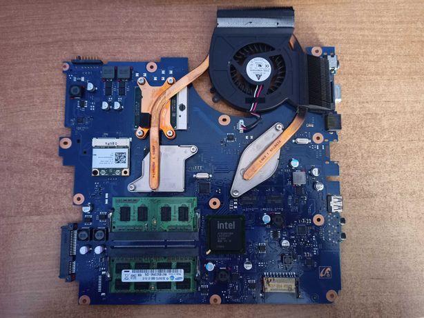Płyta główna RV510 + 3GB ram + chłodzenie