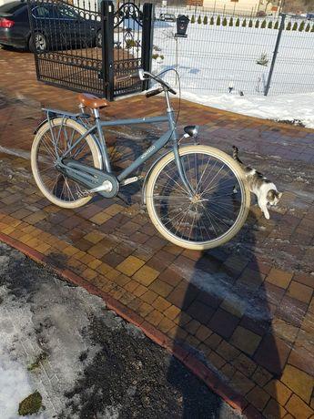 Montego meski Holenderski rower miejski. Styl retro