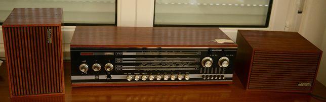 Radio Blaupunkt + colunas originais