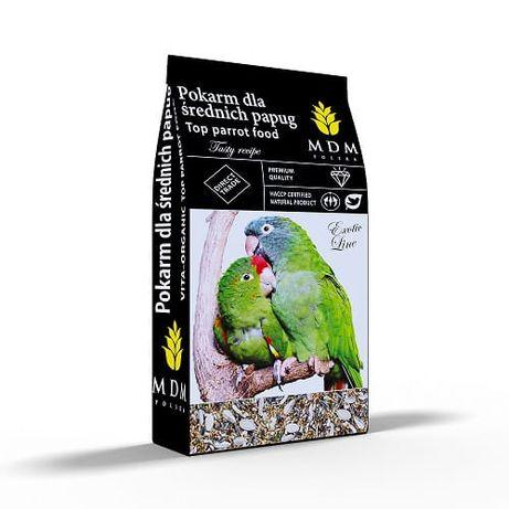 Karma MDM 10 kg papuga średnia dla aleksadretty, rozelli, nimfa