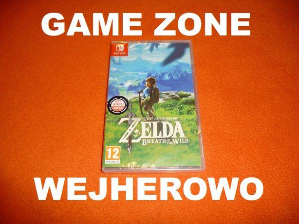 ZELDA Breath of the Wild Nintendo SWITCH + 2 x Amiibo ! Wejherowo