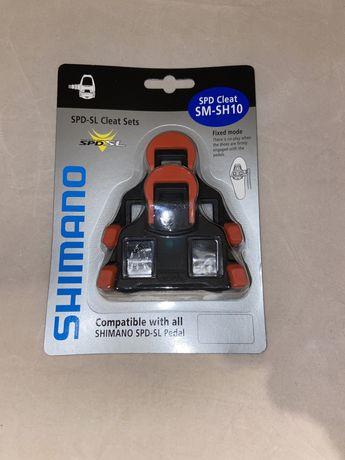 Bloki do pedałów SHIMANO SPD SL SM-SH10