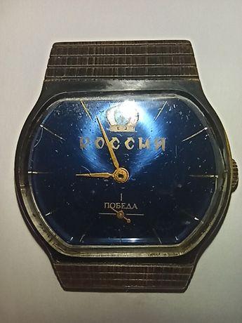 Рабочии механические наручные часы Победа, Россия