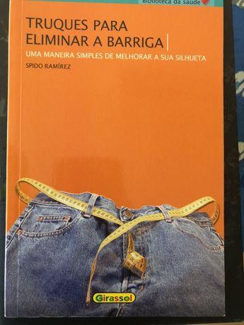 """Livro """"Truques para eliminar a barriga""""- Spido Ramirez"""