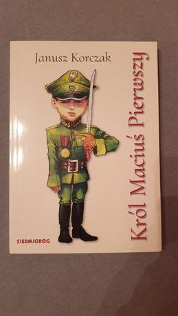 Książka  Król  Maciuś Pierwszy