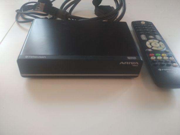 Dekoder DVB-T Ferguson Ariva T650i + TV Philips 25pt4107l58
