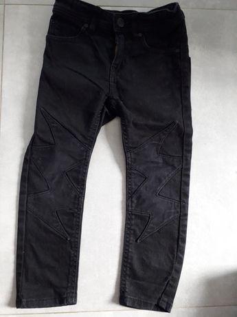 Spodnie jeansy hm 104