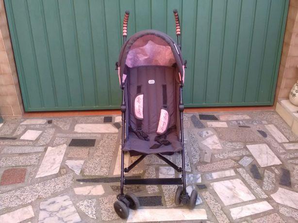 Carro de passeio para criança com cesto