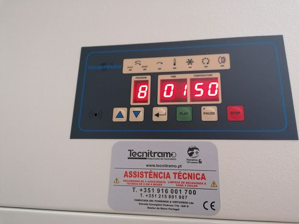 Máquina de secar roupa industrial ocasião Self service