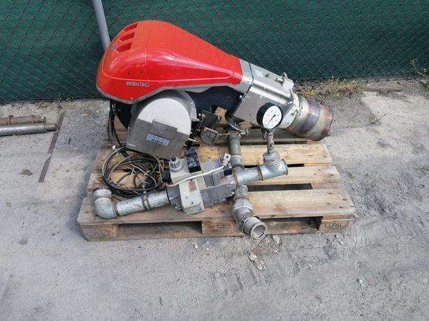 Palnik gazowy Riello RS130, 1512 kW ścieżka dungs suszarnia