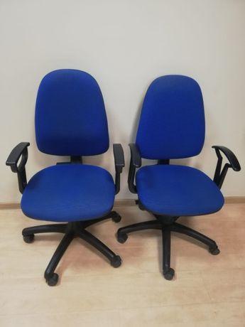Krzesło biurkowe dwie sztuki.