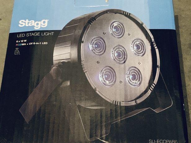 LED прожектор Stagg SLI-ECOPAR6 пара