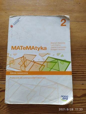 Podręcznik do matematyki klasa 2