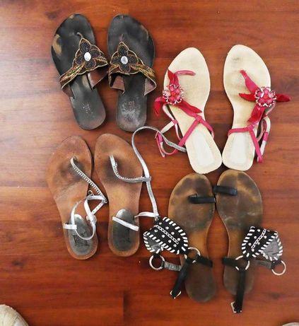Sandálias de mulher (tamanho 36)